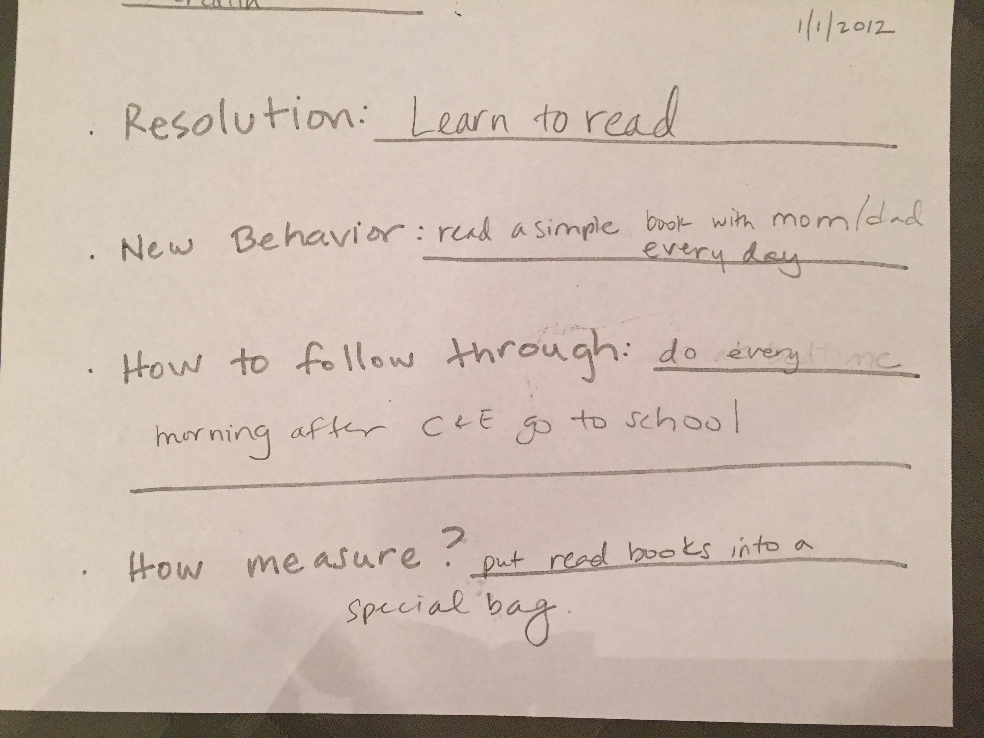MESB 2012 Resolution